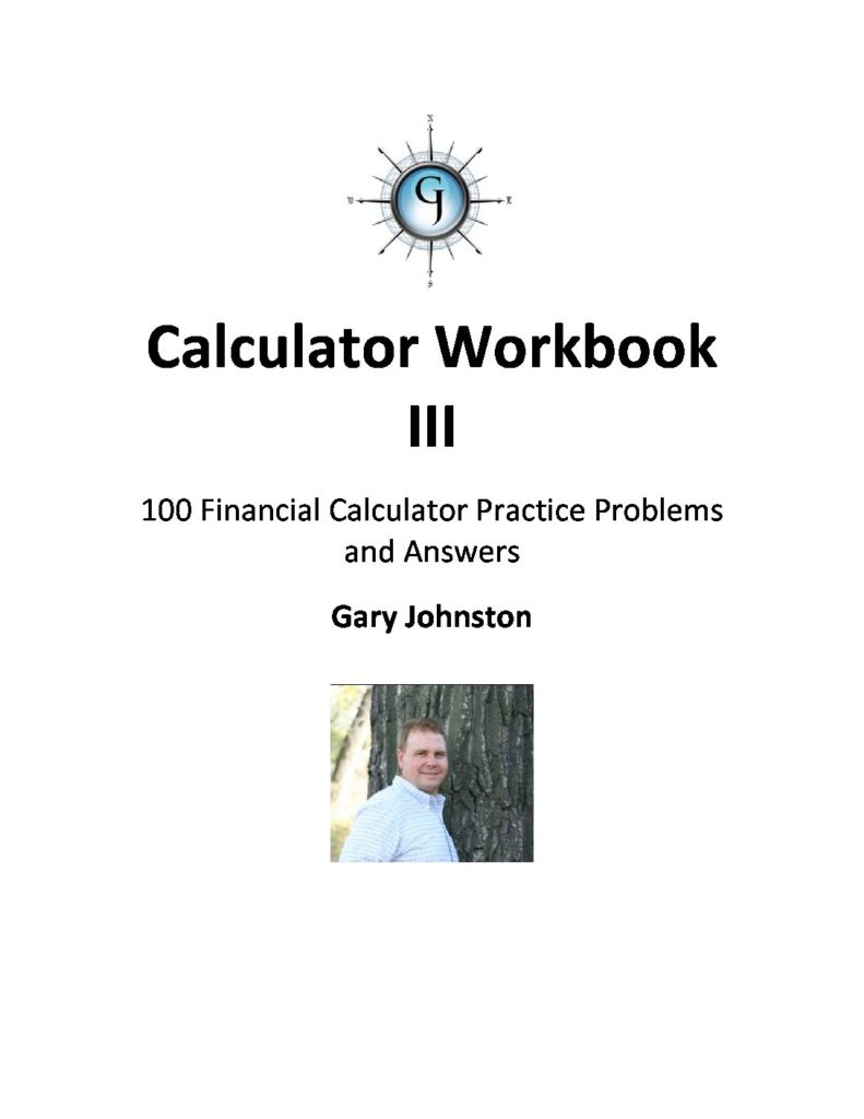 Calculator Workbook III